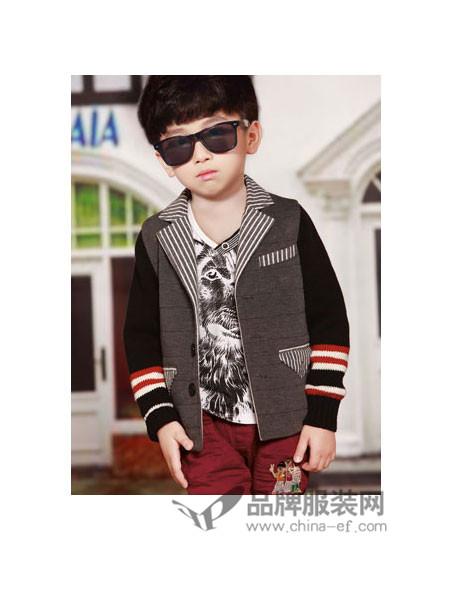 时尚世家童装为少年孩童创造出现代穿衣新主张