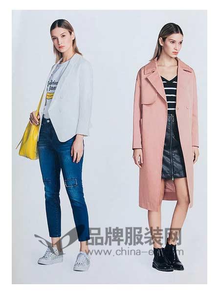 你即永恒女装2018春新款薄外套风衣韩版修身长袖上衣
