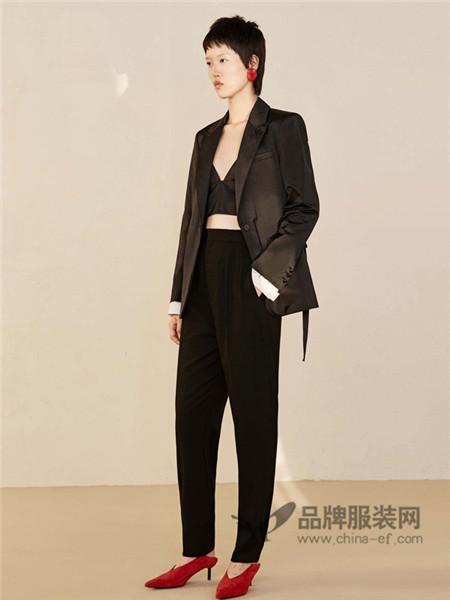 Edition10女装2018春时尚个性百搭小西装外套