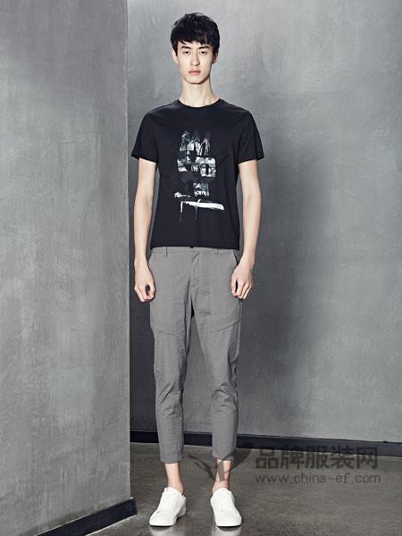 1943S男装2018春夏休闲个性百搭短袖T恤