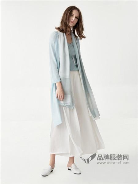 意澳女装2018春夏时尚优雅气质仙气披肩