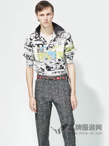 普拉达男装现代感素材创造了流行的独特风格