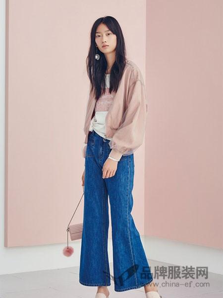 HALOHAPPY女装2018春夏粉色蕾丝外套