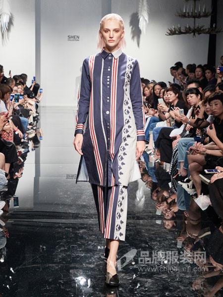 凯伦诗女装2018春夏休闲宽松欧式都市文艺中长款套装