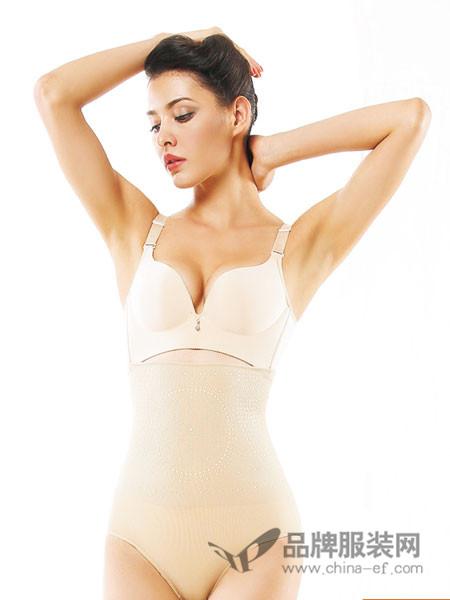 易缇秀内衣2018春夏收腹带收腰透气束腰内衣女瘦身调整型护腰带美体塑身