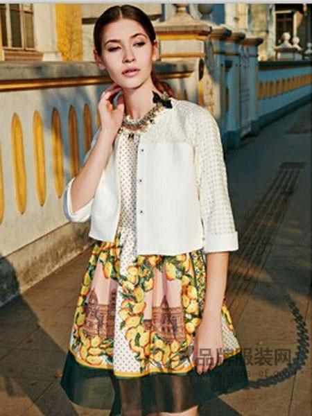 梵瑞妮女装时尚优雅镂空袖短装披风