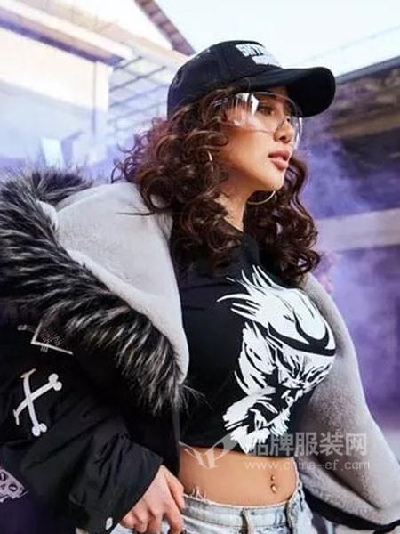 Monkey King休闲2018春休闲个性悟空头像女T恤