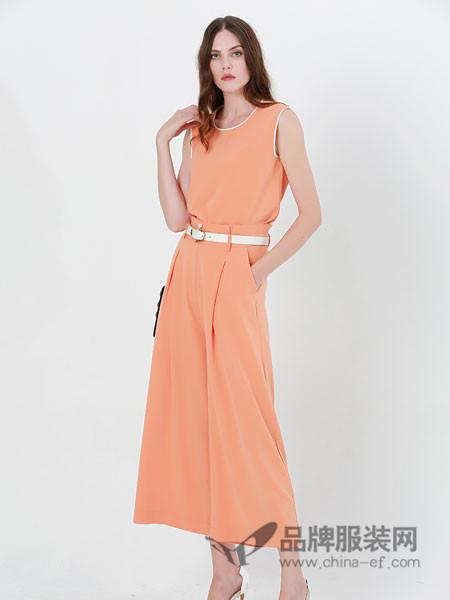 例格女装2018夏季修身时尚套装