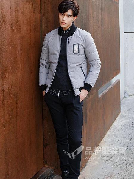 阔佬・史迪文男装休闲百搭短装棉衣夹克外套