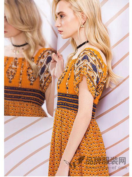 布根香女装2018夏季时尚、自然系列新品