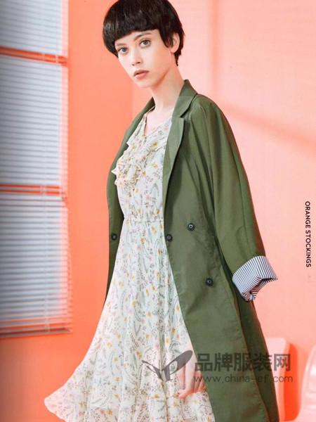 衣魅人女装2018春夏欧式时尚中长西装领外套