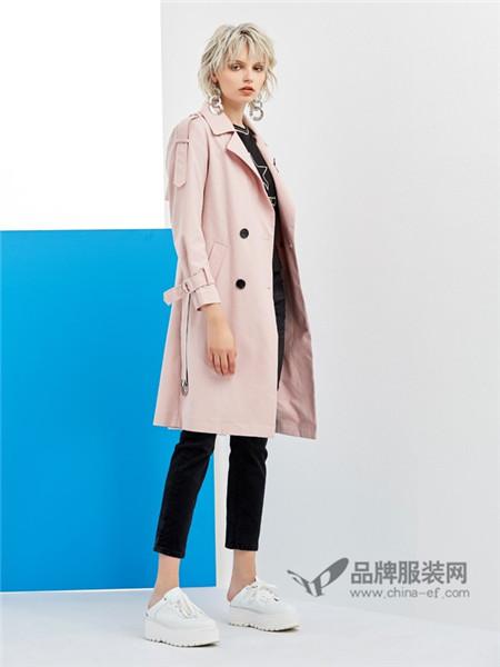 格来米亚女装2018春夏时尚优雅气质中长西装外套