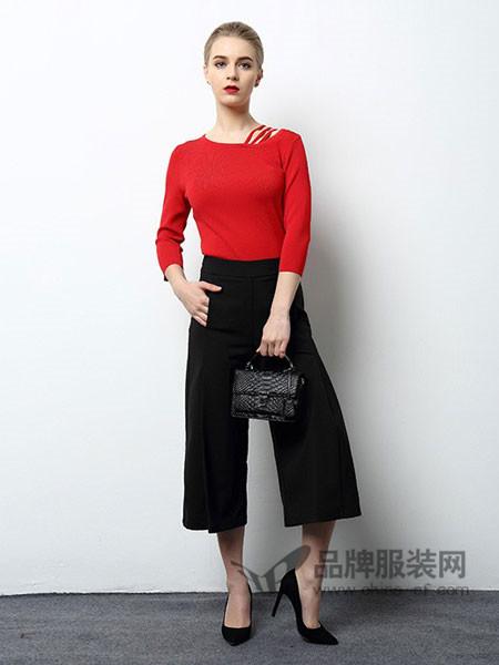 风霖女装2018春夏韩版时尚百搭长袖T恤