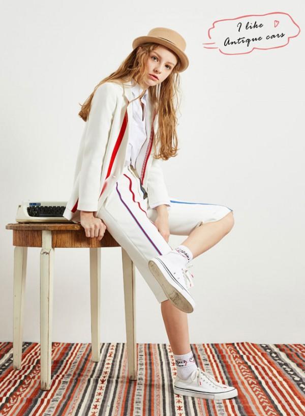 羽纱国际品牌折扣秋装直播货源 羽纱国际上海女装尾货市场
