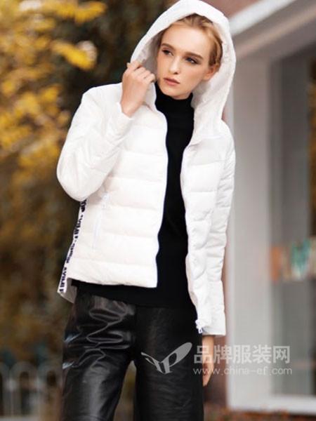 阿伊米女装秋冬休闲简约保暖短装棉衣外套