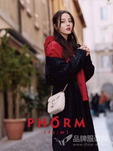 PHORM女装2018春夏时尚休闲修身外衣