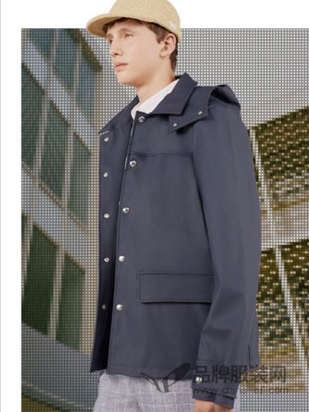 Maison Kitsuné男装2018春夏时尚男士百搭上衣