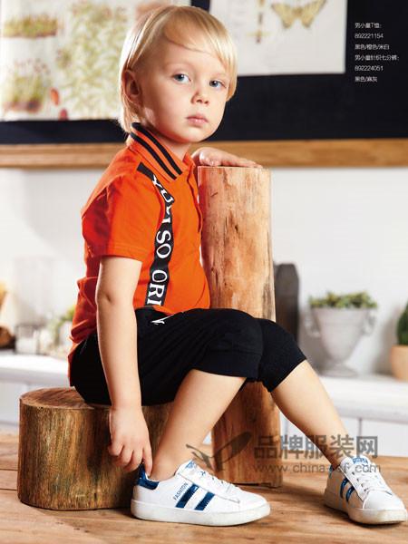 YukiSo童装2018夏季时尚休闲短袖T恤