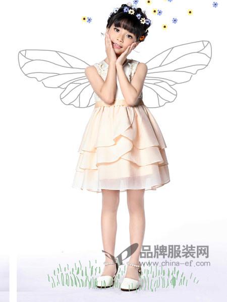力果 - LIGUO童装2018夏季时尚无袖优雅气质公主裙