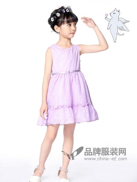 力果 - LIGUO童装2018夏季时尚甜美无袖公主裙礼裙