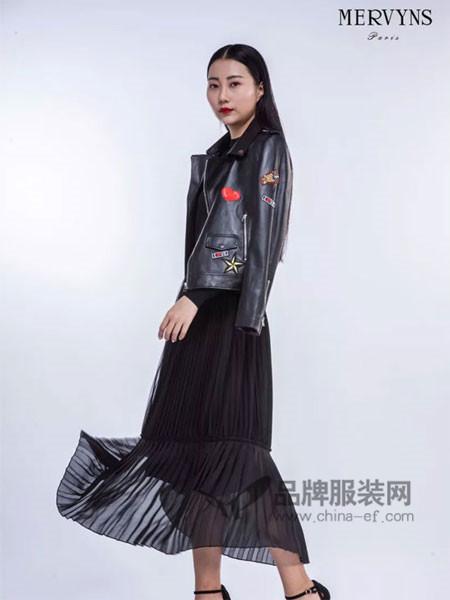 Mervyns 摩雯思女装2018春时尚个性短装夹克