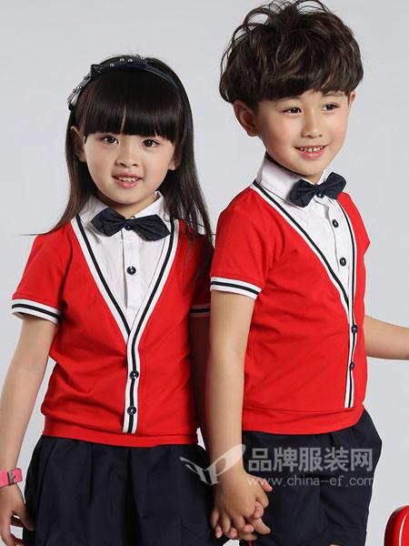 52017亲子情侣2018夏季时尚休闲假两件套短袖校服