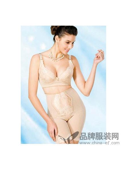 卡丁娜内衣性感内衣刺绣无痕一片式无钢圈调整型文胸