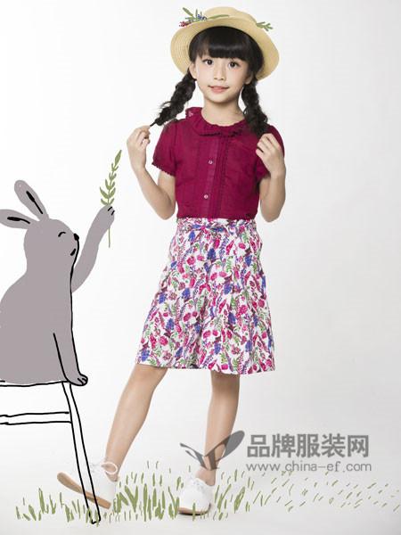 力果童装2018夏季短款公主韩版