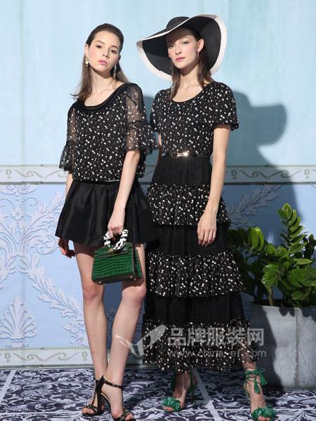 珈姿・莱尔女装品牌,创造出层次交叠的丰富概念