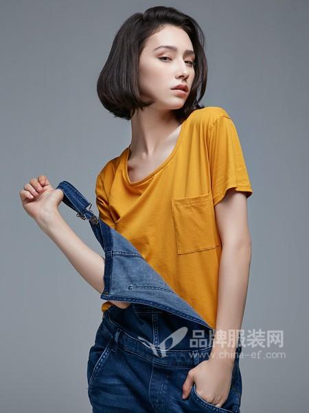 杰恩蒂女装2018春夏时尚简约短袖T恤