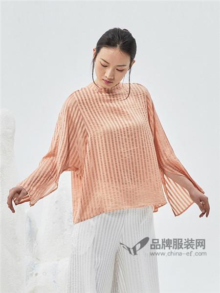 闲着女装2018春夏中式改良民国文艺复古日常T恤
