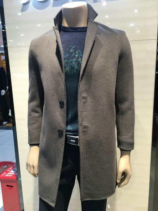 ichinichi双面呢羊毛/羊绒大衣2017冬季新品