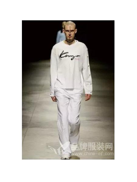 巴赛诺男装时尚休闲字母长袖卫衣