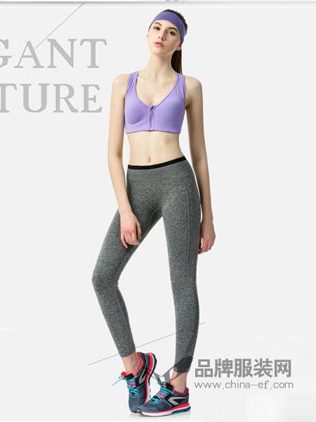 有致Fimage内衣2018春夏健身跑步瑜伽跳操瘦腿七分打底裤夏季薄款吸汗速干美腿