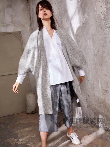 娅铂・周末女装2018春夏时尚优雅休闲蝙蝠袖中长外套