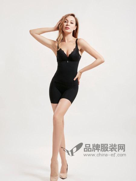 sunei苏内内衣2018春夏塑身衣分体套装收腹托胸束腰瘦身束身塑身内衣