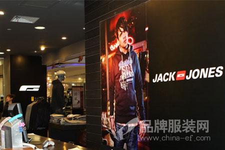 杰克琼斯Jack&Jones店铺展示