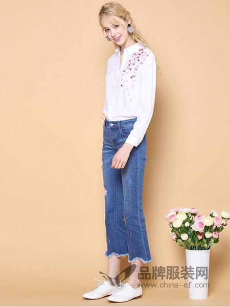 罗燕Roem女装2018春夏新款韩版修身显瘦打底衬衫时尚白色女装长袖上衣
