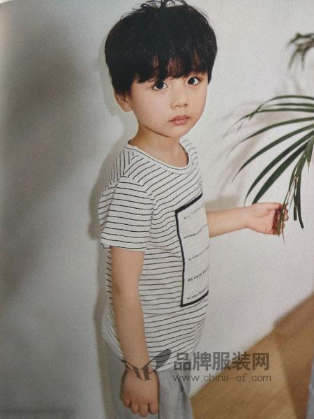 青稚童装2018春夏男孩衣服6-10岁儿童衣服休闲潮
