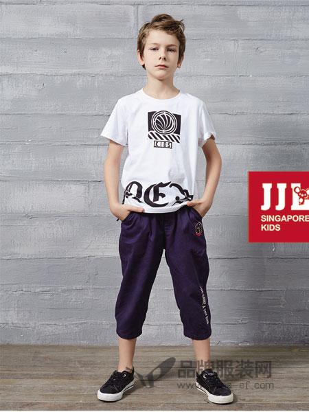 季季乐童装2018春夏儿童纯棉圆领体恤童装潮