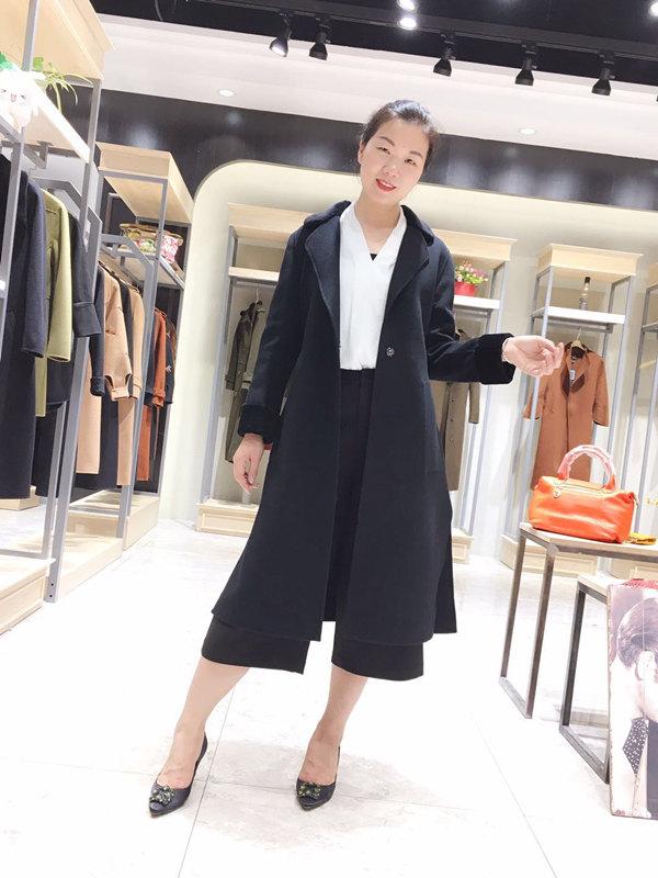 厂家直销专柜正品双面羊绒大衣批发 免费加盟