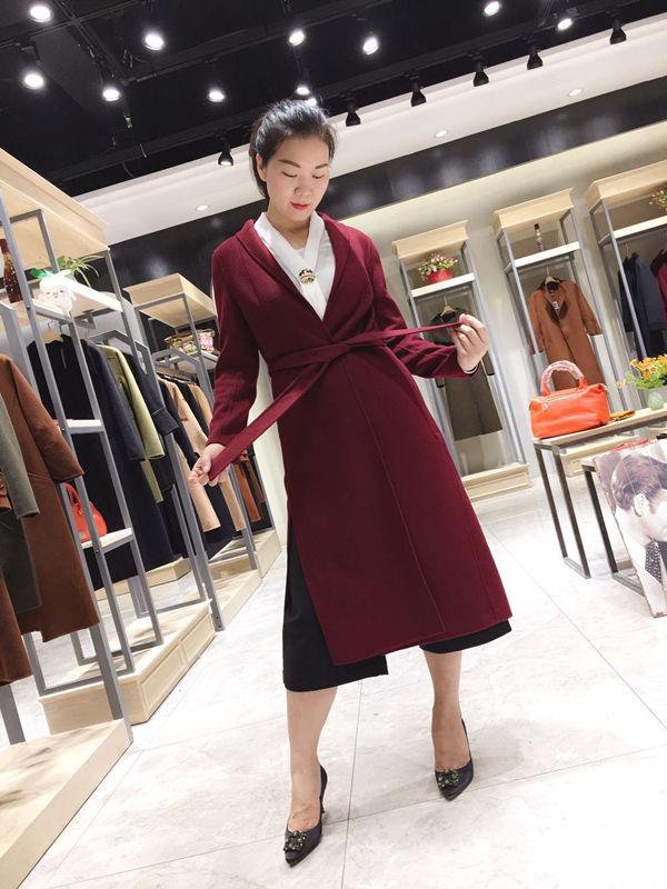 广州石井供应冬季双面羊绒大衣女装批发 一手货源