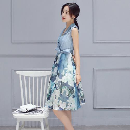 欧版秋装连衣裙 格蕾斯专业一手货源品牌折扣女装