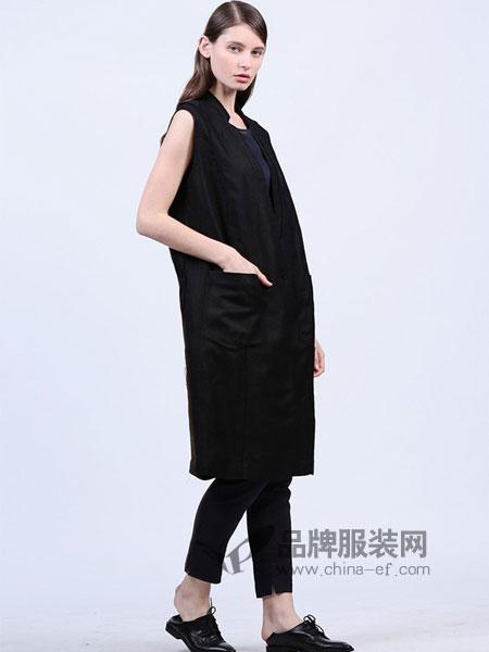 三淼女装2018春夏中长款棉麻民族风时尚百搭优雅长
