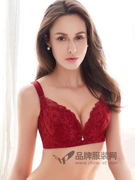 夏娃之秀内衣2018春夏文胸宽侧翼收副乳舒适胸罩