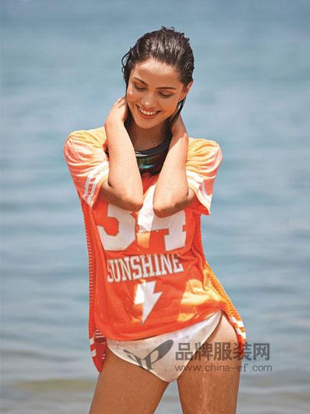 BD 内衣内衣2018春夏女子 运动休闲短袖T恤