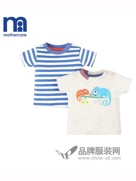 mothercare童装2018春夏短袖T恤2件装新生儿宝宝短袖衣服