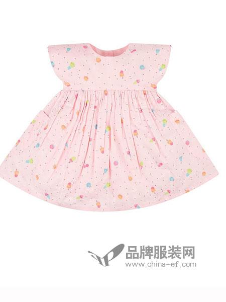 mothercare童装2018春夏短袖连衣裙女宝宝短袖裙子新款