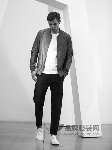 农茶男装2018春夏韩版修身外套潮流休闲棒球服