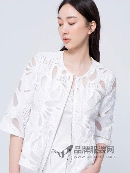 伊洛Iroo女装2018春夏百搭网纱外搭开衫夏季透视披肩薄外套